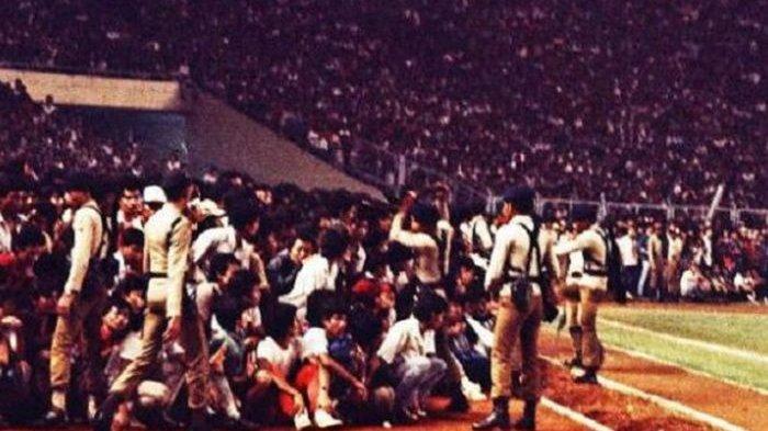 LAGA Persib Bandung Vs PSMS Medan Tahun 1985 Pecahkan Rekor Dunia Soal Penonton