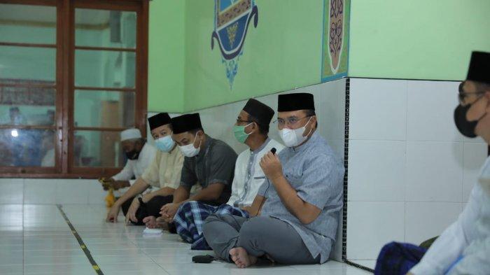 Sajadah Fajar, Gubernur Bangka Belitung Disambut Hangat Warga Air Jukung Belinyu