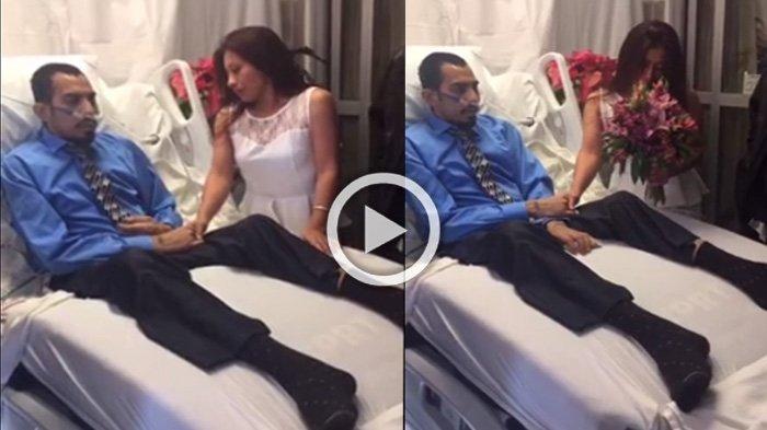 Kisahnya Bikin Sedih, Pria Ini Nikahi Kekasihnya di Rumah Sakit, 36 Jam Kemudian Hal Ini Terjadi