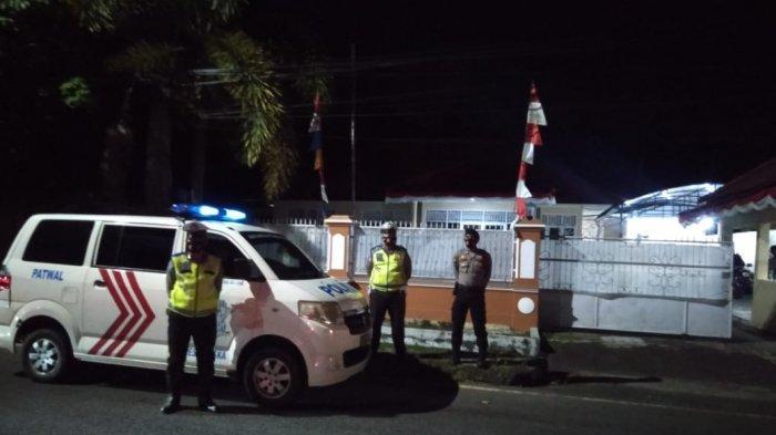 Patroli Biru untuk Antisipasi Kejahatan Malam Hari di Sungailiat