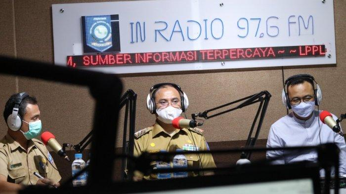 Mengudara Lewat In Radio, Gubernur Bangka Belitung Sosialisasikan Program Jahe Merah