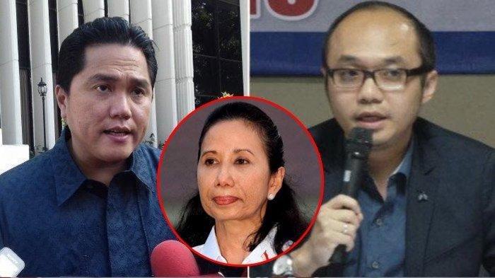 Inilah 6 Gebrakan Erick Thohir Setelah Sebulan Menjabat, Yunarto Sebut Rini Soemarno Ngapain Aja?
