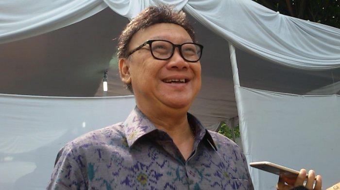 Tjahjo Kumolo Pertanyakan Ada Pihak yang Tolak Hasil Pilpres Tapi Terima Hasil Pileg