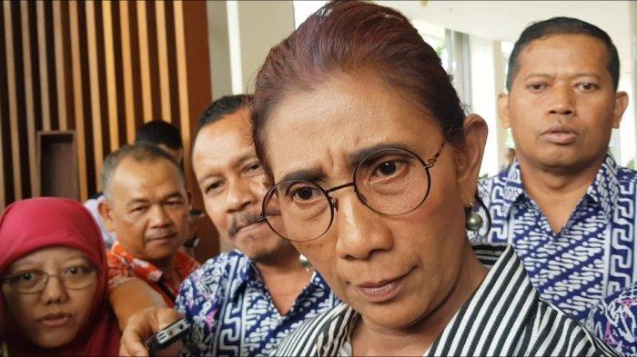 Cuitan 'Bu Susi' Trending Setelah Presiden Jokowi Sebut Nama-nama Menteri Kabinet Indonesia Maju