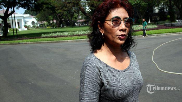 Tiba di Belitung, Menteri Susi Disambut Tarian Selamat Datang
