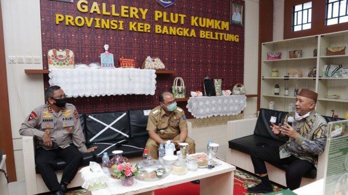 Menteri Koperasi dan UKM RI Puji Upaya Gubernur Erzaldi Dorong Semangat UMKM Babel