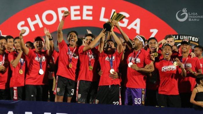 BERLABEL Juara Liga 1 2019, Bali United Tak Mampu Kalahkan 2 Tim ini