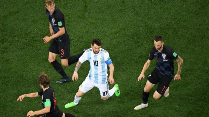 Strategi Ini Penyebab Argentina Dibantai Kroasia, Lihat Video Messi Tak Berkutik