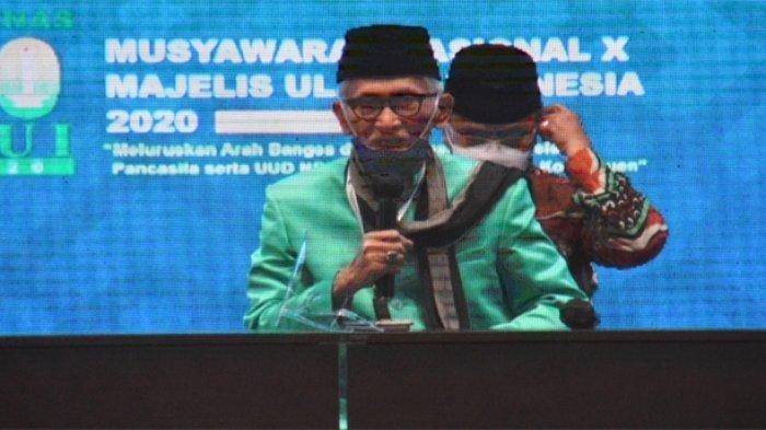 KH Miftachul Akhyar Terpilih Jadi Ketua Umum MUI Gantikan KH Ma'ruf Amin