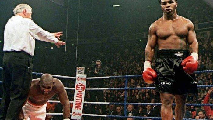 Inilah Sosok Pemuda yang Disebut Bakal Jadi Penerus Mike Tyson si Leher Beton Lihat Aksinya