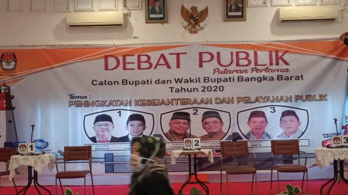 Tampil Beda KPU Siapkan Kursi Bagi Paslon Bupati dan Wakil Bupati Bangka Barat