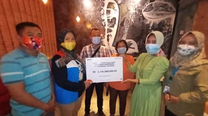 Program Kemitraan di Region Sumbagsel, Pertamina Salurkan 26 Milyar Dana