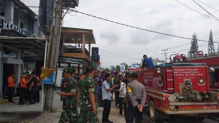Kebakaran Distro MTRL Diduga Akibat Arus Pendek Listik