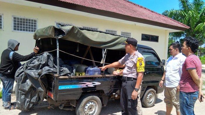 Polisi Tangkap Sopir Pickup Pengangkut BBM Subsidi