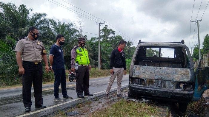 Fakta Terbaru Kondisi Sopir dan Kernet Mobil Terbakar di Sinarjaya Jelutung Sungailiat