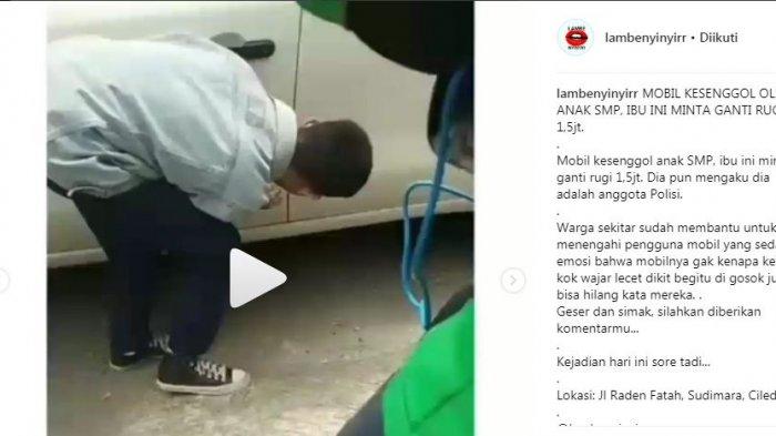 Bodi Mobilnya Diserempet Motor ABG, Wanita Muda Ngaku Polisi Lalu Paksa Minta Barang Ini
