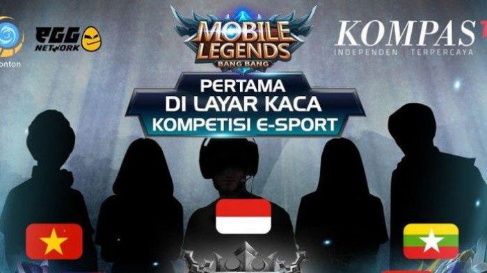 LIVE Kompas TV! Live Streaming Final Mobile Legends ASEAN 2018: Tiga Wakil Indonesia Bersaing