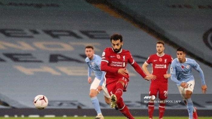 Hasil Liga Inggris Lengkap: Liverpool Gagal Menang, Manchester City Cukur Habis Burnley
