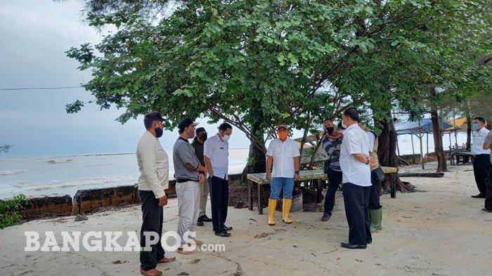 Baru Landing, Wali Kota Pangkalpinang Tinjau Langsung Kondisi Jalan Rusak di Pantai Pasir Padi - mol-jan1.jpg