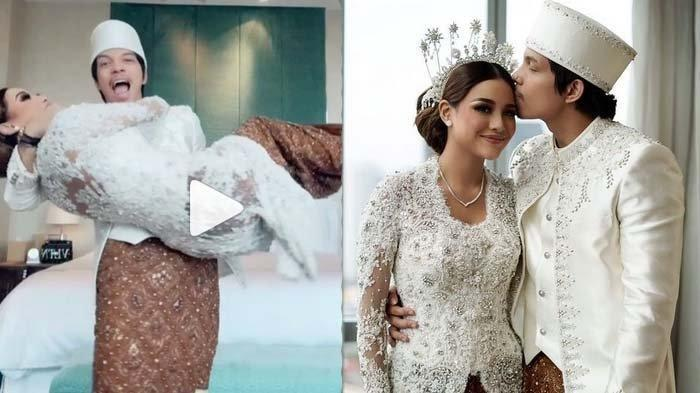Momen bahagia Atta Halilintar dan Aurel Hermansyah sebagai pengantin baru