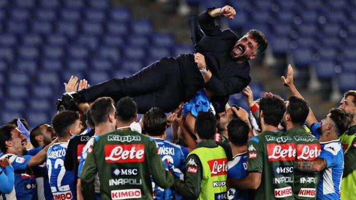 JUVENTUS Keok, Napoli Juara Coppa Italia Gennaro Gattuso Banjir Pujian