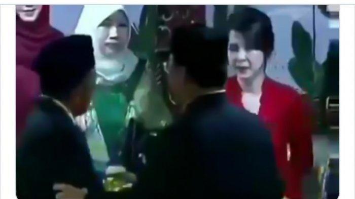 Video Viral Prabowo Subianto Tolak Salaman dengan Ketua Umum PSI Grace Natalie