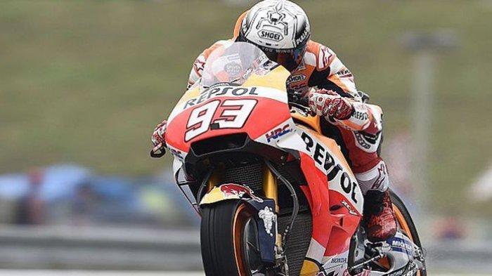 Marquez Raih Pole Position