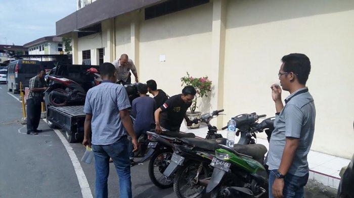 Polisi Berhasil Menggagalkan Pengiriman Puluhan Motor Curian dari Medan ke Aceh