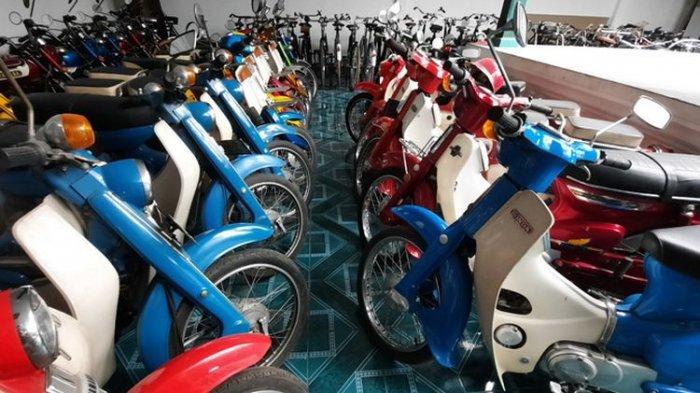 PENAMPAKAN Motor yang Pernah Dikendarai Polisi Paling Jujur di Indonesia