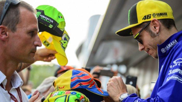 Fans Berharap Valentino Rossi Bisa Naik Podium di GP Austria
