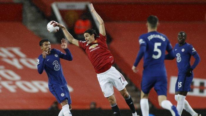 Hasil Chelsea vs MU Debut Cavani di Liga Inggris Tak Mampu Antar Kemenangan Buat The Red Devils