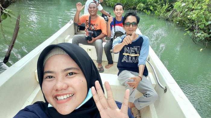 Serunya Menjelajahi Mujang Mangrove Kurau Barat, Lokasi Syuting Artis Verrell Bramasta - mun1.jpg