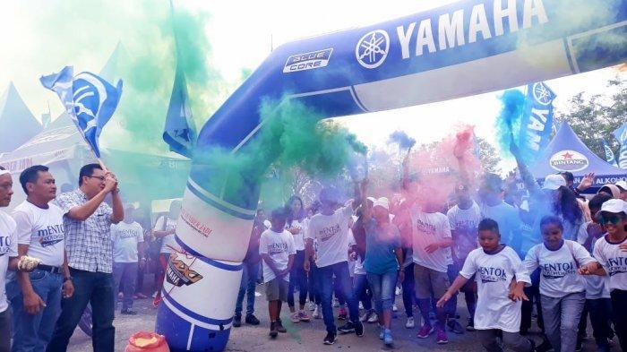 Bupati Markus Lepas Peserta Colour Run 2019 , Berolahraga Sambil Berwisata Sejarah