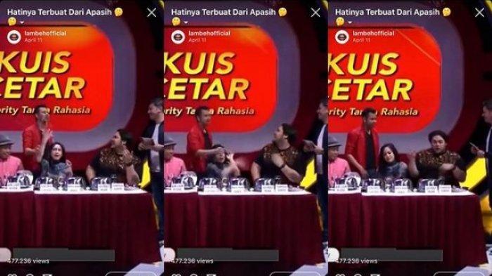 Nagita Slavina Tepis Tangan Raffi Ahmad saat Disingung Libur ke Belanda Bareng Ayu Ting Ting