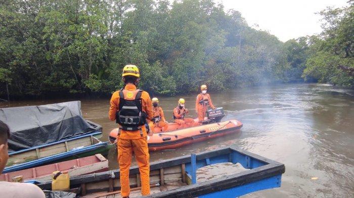 Nasib Kasir Masih Misteri, Tim Gabungan Telusuri Aliran Sungai Penyampak