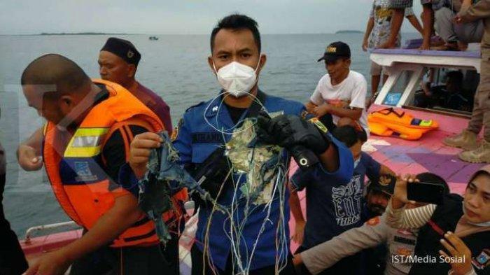 BREAKING NEWS Tiga Penumpang Pesawat Sriwijaya SJY-182 Diduga Warga Kota Pangkalpinang