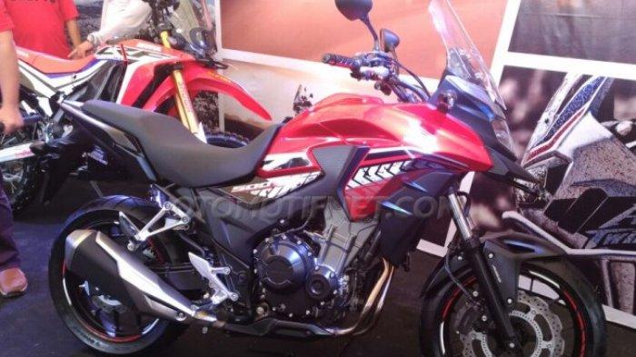 Honda Luncurkan Big Bike New  CB500X di Ajang MX GP, Penampilannya Dijamin Bikin Ngiler