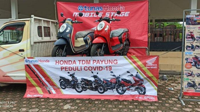 Honda TDM Payung Gelar CSR Bagi Warga Desa Malik