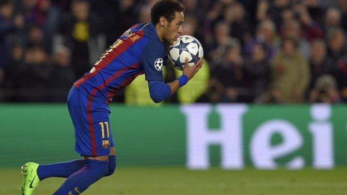 Video Tendangan Pisang Neymar, Kiper PSG Kevin Trapp Tak Berkutik