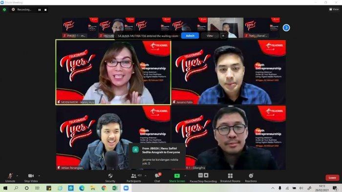 Telkomsel Dorong Pertumbuhan Digipreneur Mahasiswa dan Pelajar Sumatra
