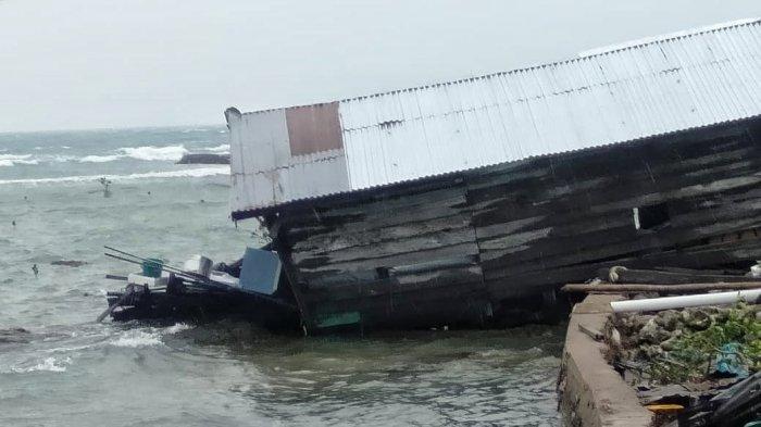 Data Sementara Kerusakan Akibat Angin Kencang Yang Menerjang Pulau Buku Limau