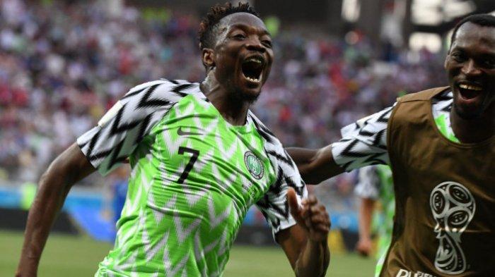 Bungkam Islandia 2-0, Nigeria Buka Asa Lolos ke Fase Gugur