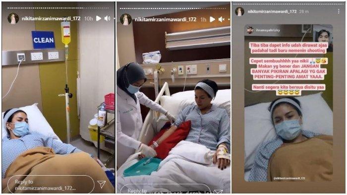 Nikita Mirzani dilarikan ke rumah sakit