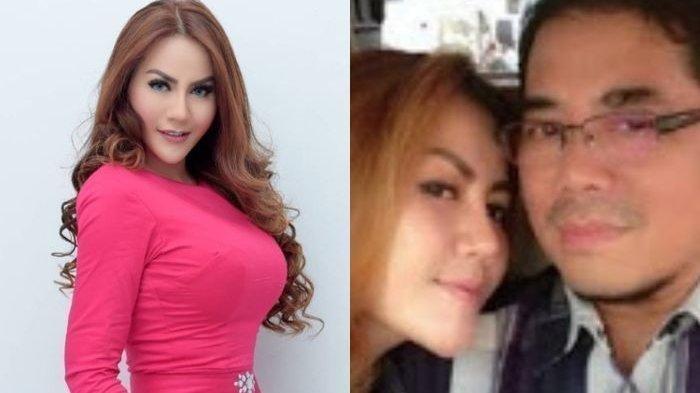 Nita Thalia dan suaminya