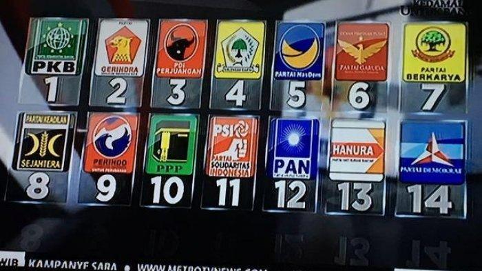 Hasil Survei LSI Denny JA Ungkap Perindo, Garuda, Berkarya dan PSI Terancam Tak Lolos ke DPR