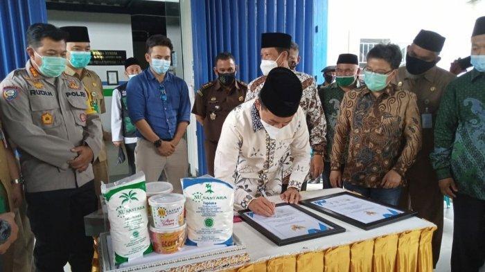 Bangun Ekonomi Keumatan, PWNU Bangka Belitung Kerjasama PT BAA Kembangkan Produk Lokal