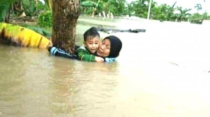 Nenek Meninggal Dunia Setelah Selamatkan Cucu saat Banjir Besar Menerjang Gowa