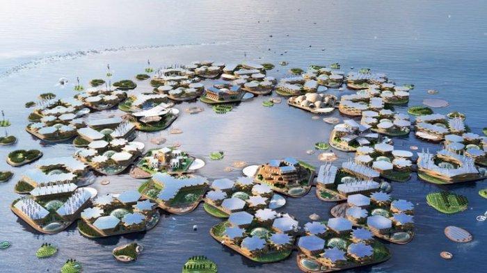PBB akan Bangun Kota Terapung, Didesain Aman dari Banjir, Tsunami dan Badai