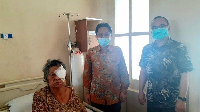 Program Jumat Berkilau Klinik Mata RSBT Pangkalpinang, 4 Orang Terima Layanan Operasi Katarak Gratis