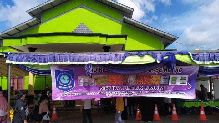 Pemprov Babel Gelar Pasar Murah di Kecamatan Kelapa Bangka Barat
